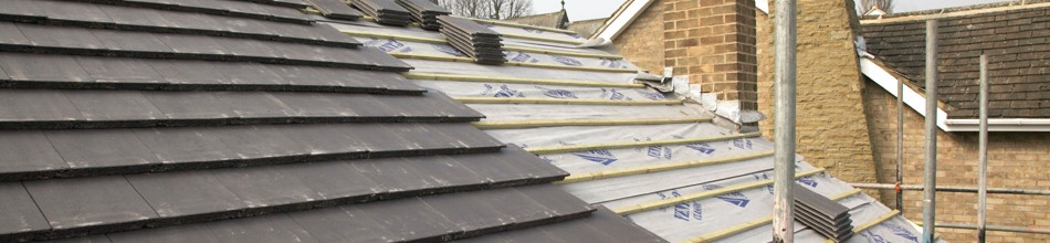 New roof being constructed Liverpool
