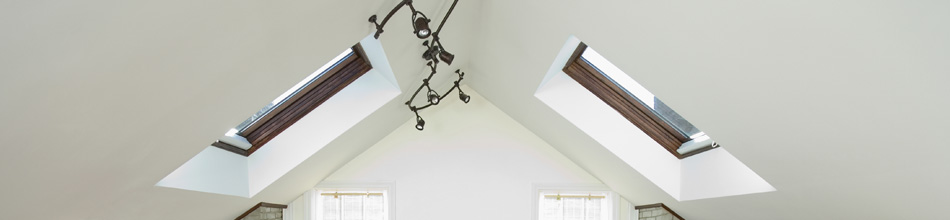 Roof lights by Velux